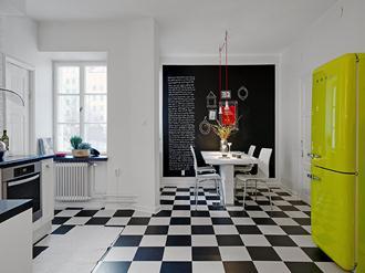 Decoração-cozinha-preto-e-branco