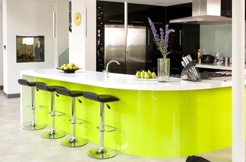 decoracao cozinha verde : decoracao cozinha verde:Lime Green Kitchen Decorating Ideas