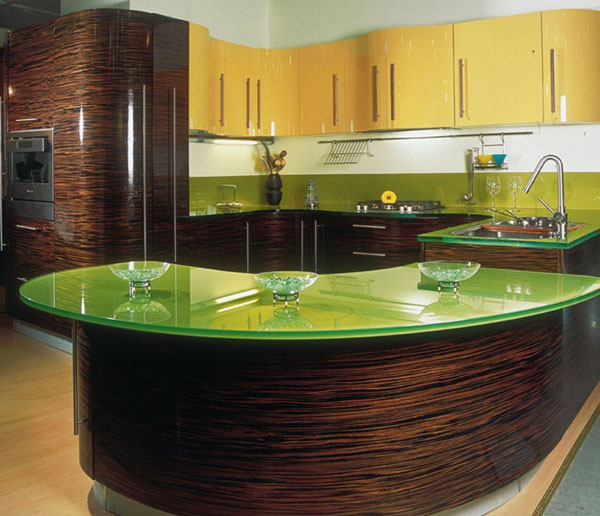 decoracao cozinha verde : decoracao cozinha verde:Green Kitchen Tables with Glass Tops