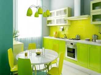 Decoração-cozinha-verde-Fotos