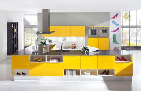 Yellow Kitchen Themes~ Decoracao De Cozinha Na Cor Amarela