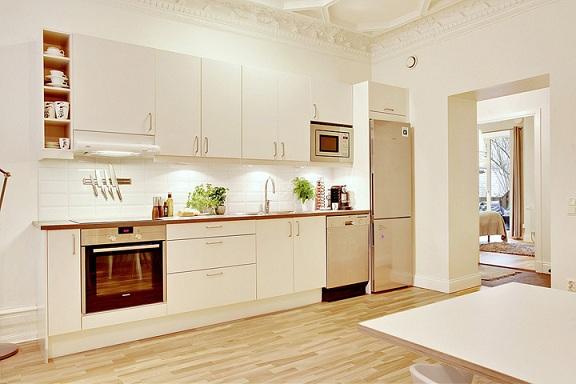 Decoração de cozinha na cor bege  Decorando Casas -> Decoracao De Banheiro Na Cor Bege