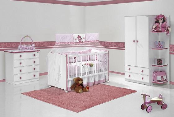 Decoração do quarto do bebê feminino  Decorando Casas
