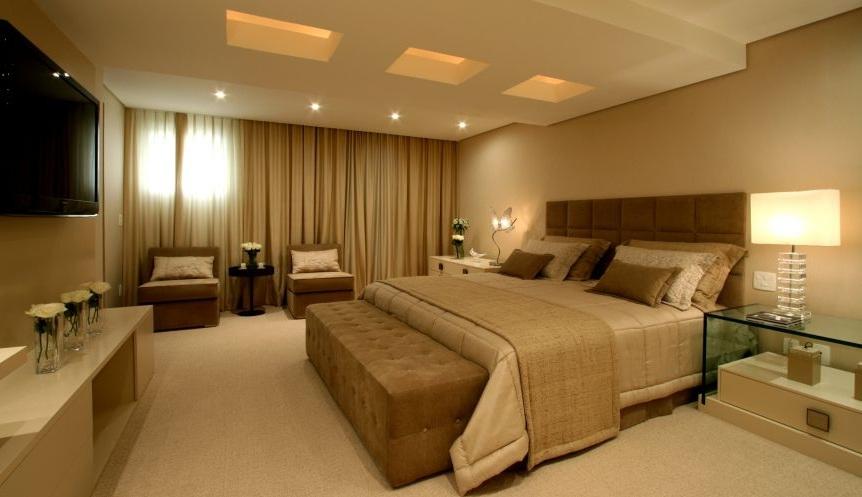 Iluminação para quarto de casal  Decorando Casas