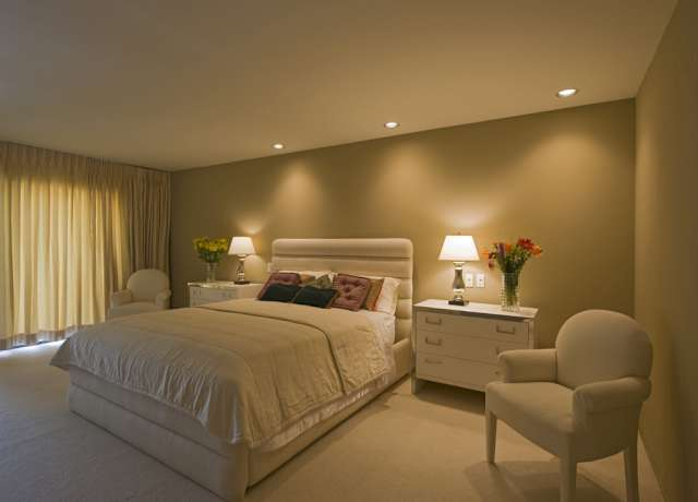 Iluminação para quarto de casal Decorando Casas ~ Quarto Casal Luminaria Pendente