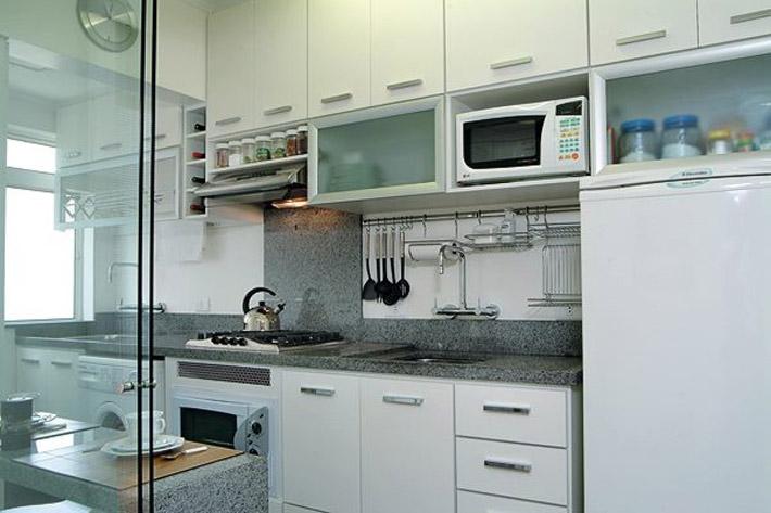 Móveis planejados para cozinha pequena de apartamento  Decorando