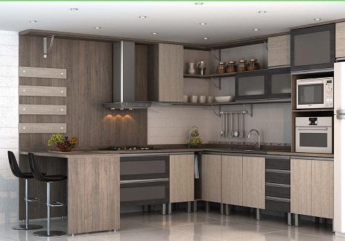Móveis planejados para cozinha simples | Decorando Casas