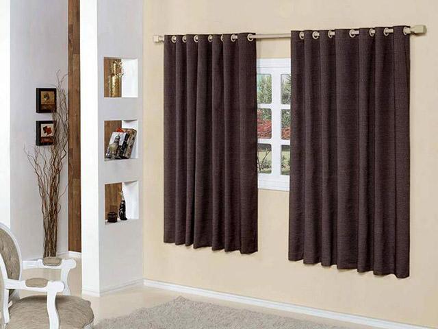Modelos de cortinas para quartos  Decorando Casas