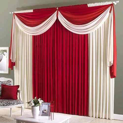 Modelos de cortinas para quartos decorando casas for Modelos de cortinas