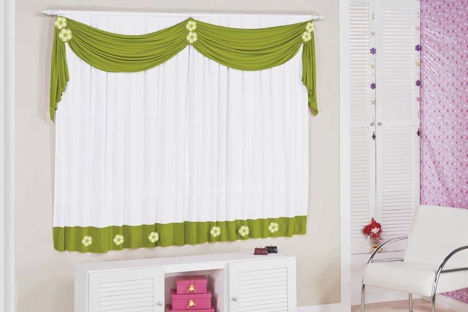 Modelos de cortinas para quartos decorando casas - Modelos de cortinas infantiles ...