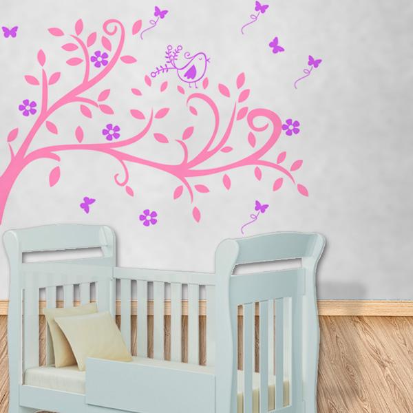 Adesivos para quartos de bebê Decorando Casas