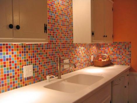Como-decorar-cozinha-de-apartamento-com-pastilhas-coloridas