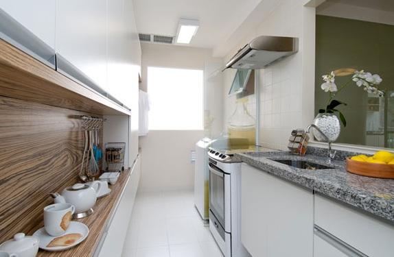 Decoração cozinha pequena e moderna | Decorando Casas
