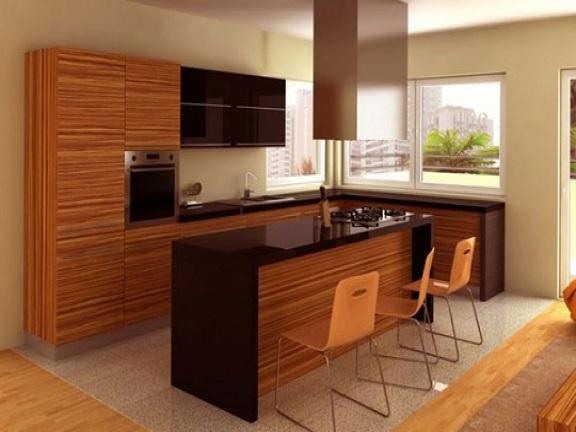 decora o cozinha pequena e moderna decorando casas. Black Bedroom Furniture Sets. Home Design Ideas