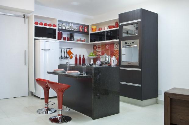 Como Decorar Cozinhas Pequenas~ Decoracao Cozinha Muito Pequena