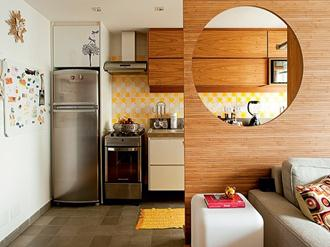Decoração Cozinha Pequena E Moderna Decorando Casas