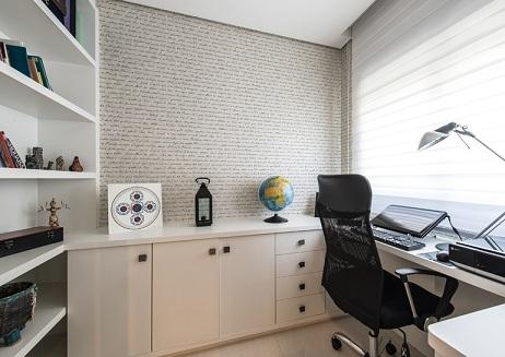 Decoração-da-parede-do-escritório