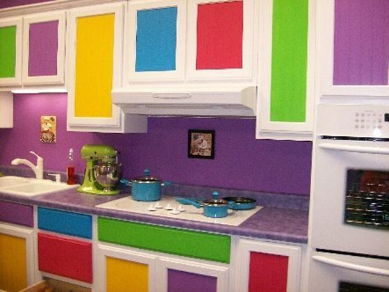 Decoração-de-cozinha-colorida