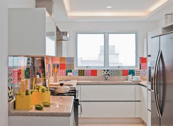 Decora o de cozinha colorida decorando casas - Categoria a3 casa ...
