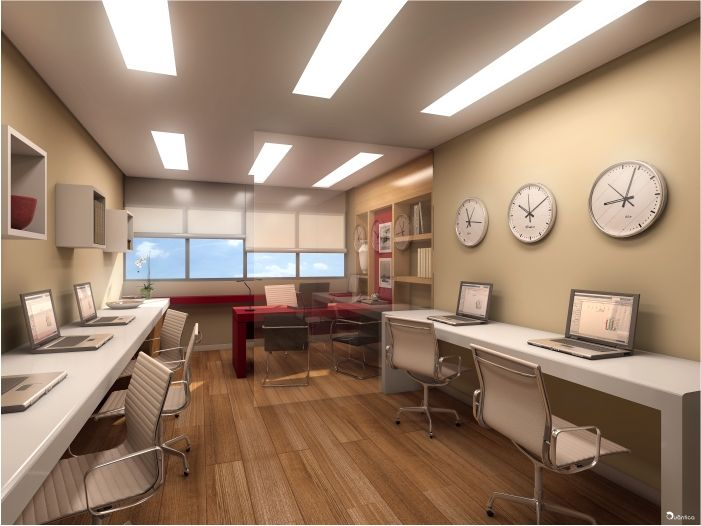 decoracao de interiores para escritorios : decoracao de interiores para escritorios:Decoração do escritório – Faça você mesmo