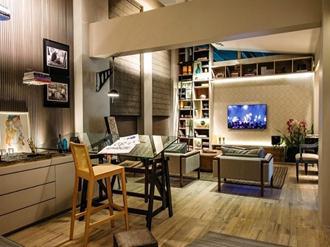 Decoração-do-home-office-na-sala-de-TV