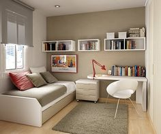Decoração-home-office-no-quarto-de-solteiro