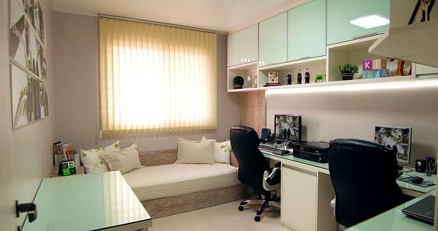Decoração-home-office-no-quarto-de-visita