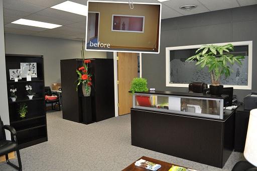 Decora o para escrit rio comercial decorando casas for Accounting office design ideas