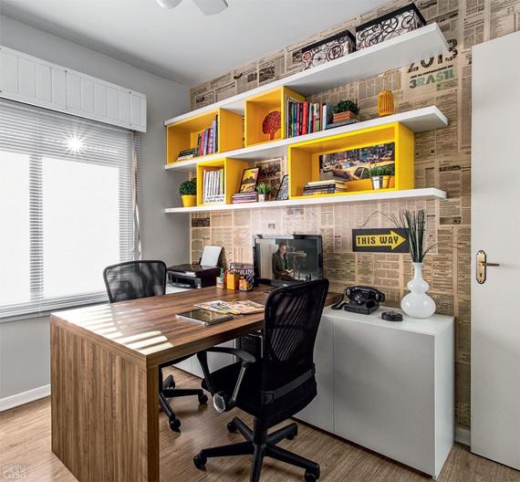 Decoração Para Home Office Do Quarto Masculino
