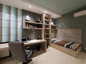 Decoração-para-home-office-do-quarto-masculino
