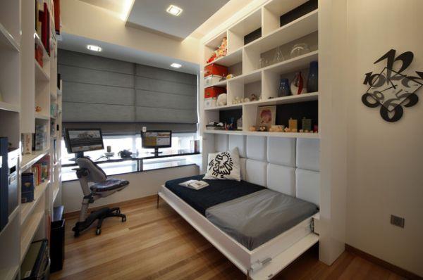 Home Office Para Quarto De Solteiro Pequeno