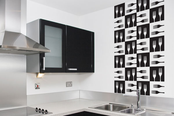 Papel De Parede No Armario De Cozinha : Papel de parede para cozinha dicas e modelos decorando