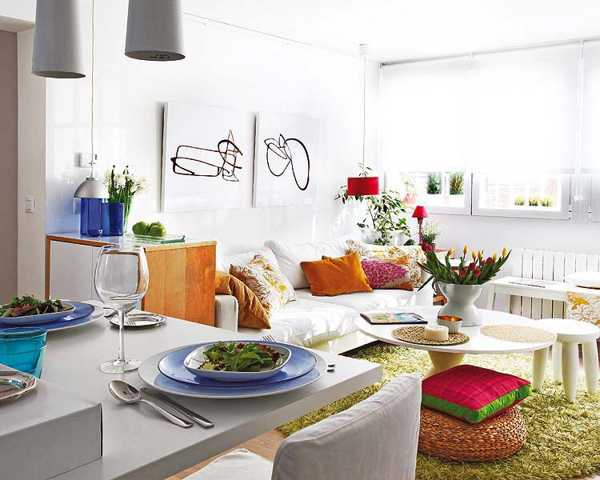 decoracao de interiores de apartamentos novos fotos:Small Space Apartment Decorating Ideas