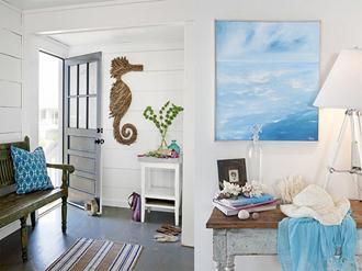 Decoração-do-apartamento-de-praia
