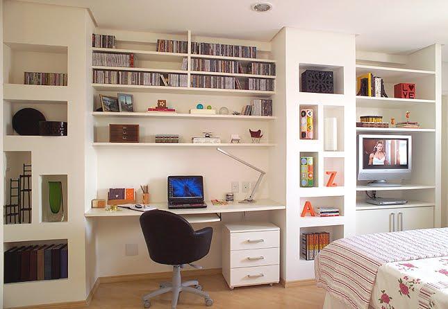 Decoração-do-escritório-em-casa