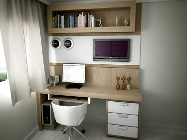 Home-office-no-quarto-com-TV–Solteiro