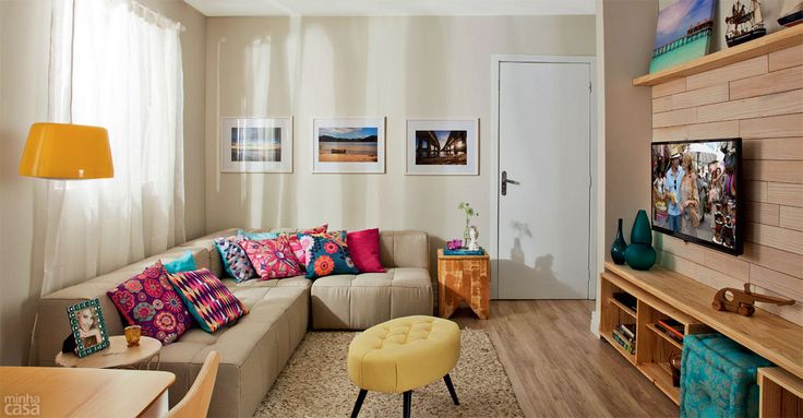 fotos de decoração da sala de estar