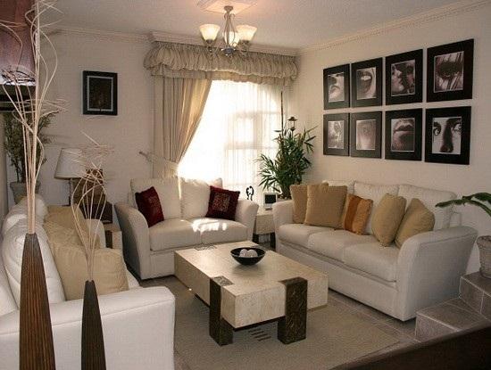 decoracao de sala gastando pouco:Small Living Room Decorating Ideas