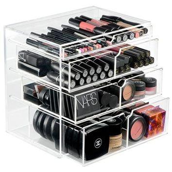 Como organizar maquiagem sem gastar muito