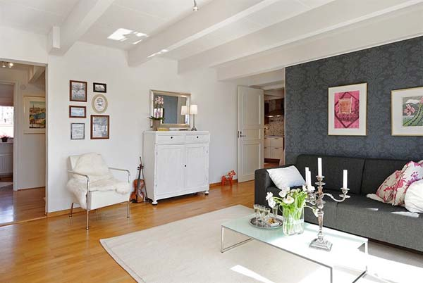 Decoração-clean-para-apartamento-pequeno