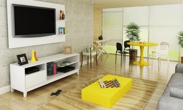 decoracao de sala retro:Para que sua decoração colorida para sala de estar não tenha erros