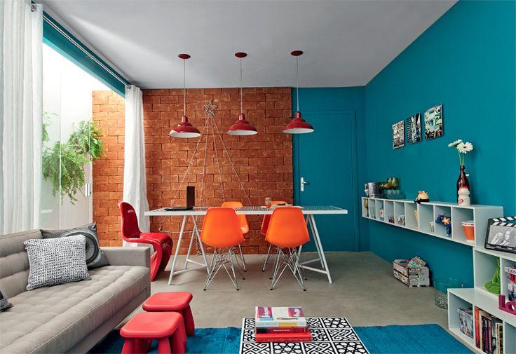 Decoração-colorida-para-sala-de-estar
