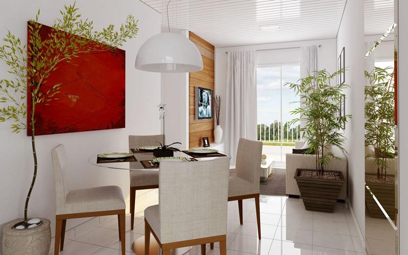 Ideias Para Sala De Estar E Jantar ~  para sala de jantar e estar integradas decoração para sala de estar