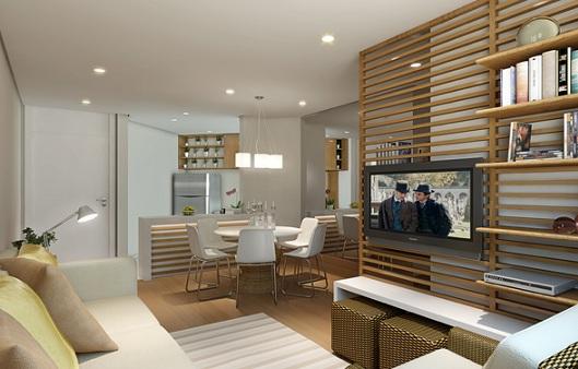 Sala De Tv Cultura Brasil ~ Decoração para sala de estar e jantar integradas  Decorando Casas