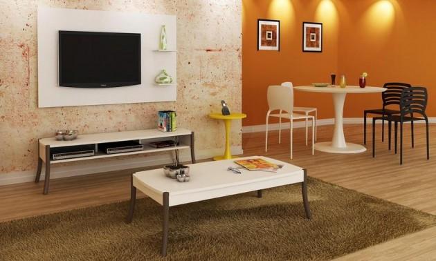 Sala De Estar Integrada Com Jantar ~ Decoração para sala de estar e jantar integradas  Decorando Casas