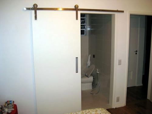 Porta De Correr De Vidro No Quarto ~ Fotos de portas de correr para quarto  Decorando Casas