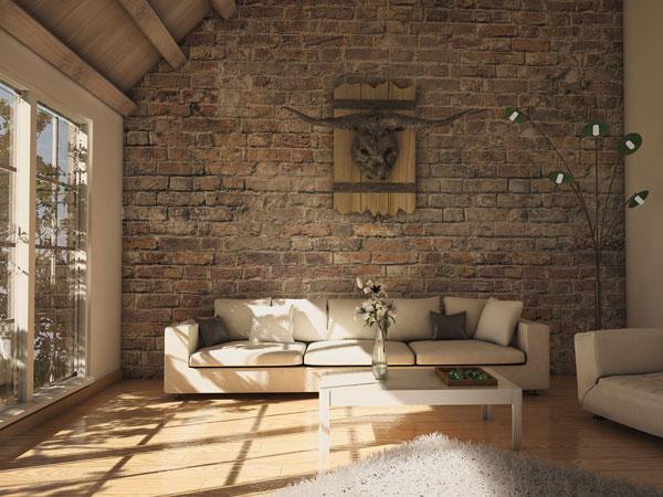 texturas para paredes de sala moderna http