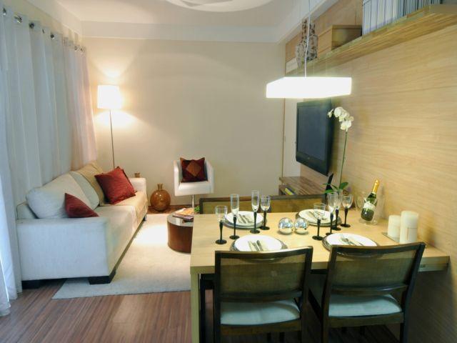 Sala Pequena Moderna Decorada ~ Como decorar a sala pequena e moderna?  Decorando Casas