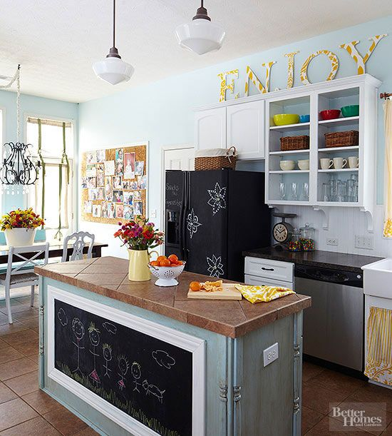Como decorar cozinha gastando pouco