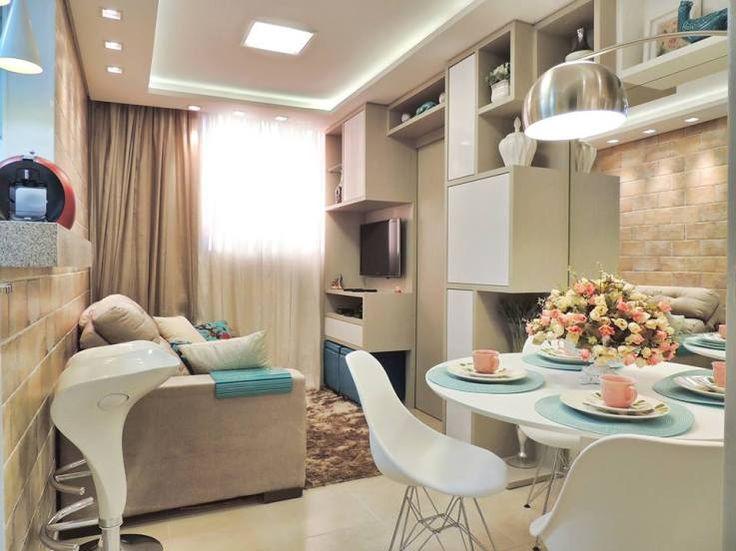 Como decorar sala de estar pequena decorando casas - Decorar salita de estar pequena ...